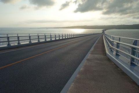 伊良部大橋と海中道路