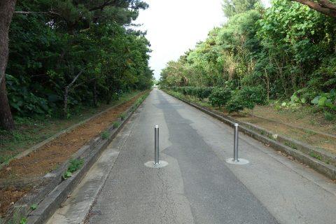 伊良部島/牧山展望台から駐車場までの道