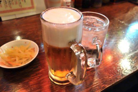 宮古島の居酒屋「眞丑」オリオンビール