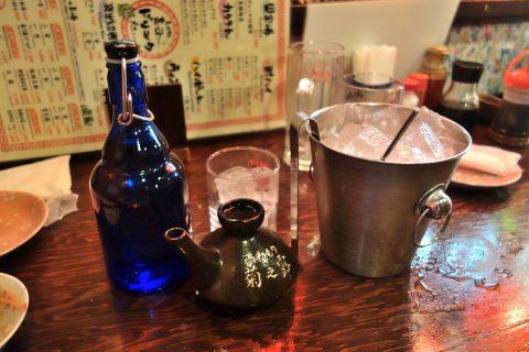 宮古島の居酒屋「眞丑」の泡盛眞丑