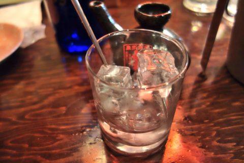 宮古島の居酒屋「眞丑」泡盛眞丑は辛口