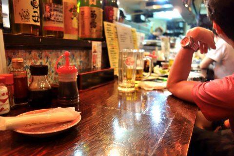 宮古島の居酒屋「眞丑」喫煙席禁煙席