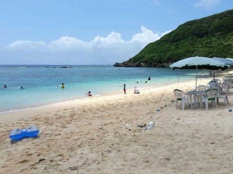吉野海岸の砂浜