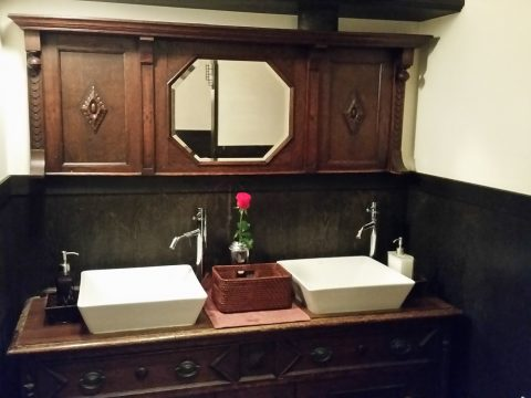 博多もつ鍋のやま中のトイレ