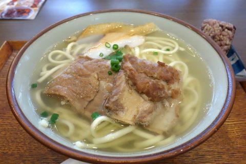 宮古島なびぃ食堂ソーキそばのボリューム