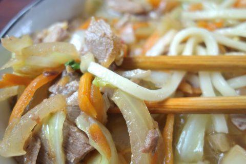 すむばり食堂の麺