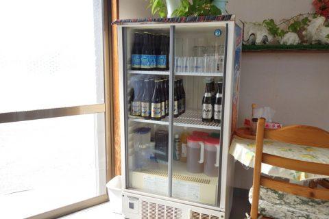すむばり食堂のドリンク、ビール