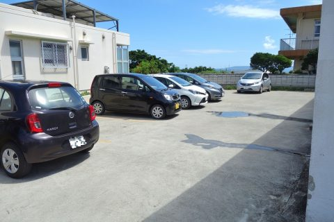 すむばり食堂の駐車場