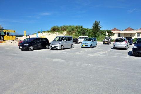 宮古島前浜ビーチ駐車場