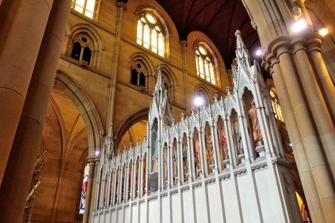 St-Marys大聖堂の主祭壇の裏側