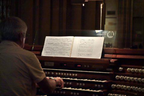 St-Marys大聖堂のオルガンの楽譜