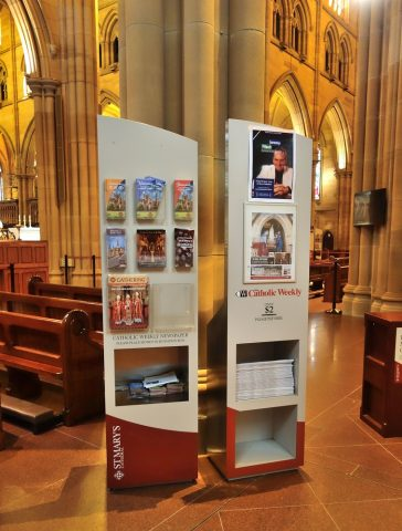 St-Marys大聖堂のパンフレット