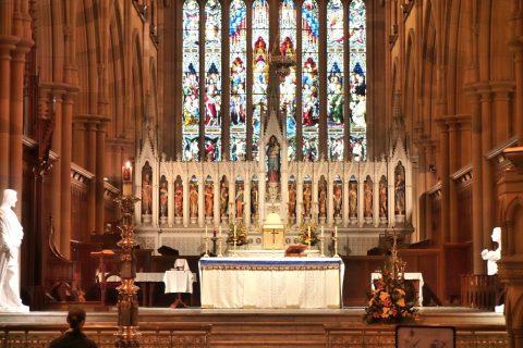 St-Marys大聖堂の祭壇
