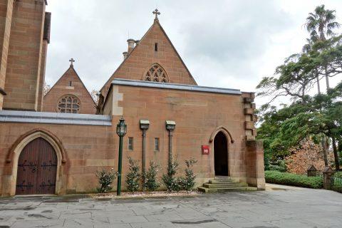 St-Marys大聖堂のトイレ