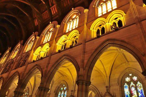 St-Marys大聖堂の照明