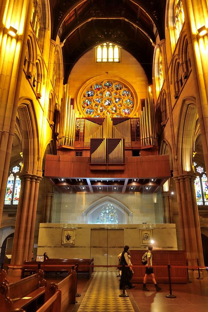 St-Marys大聖堂のオルガン