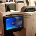 マレーシア航空ビジネスクラスKUL~SYD搭乗レポ!フルフラットベッドの寝心地を確かめる
