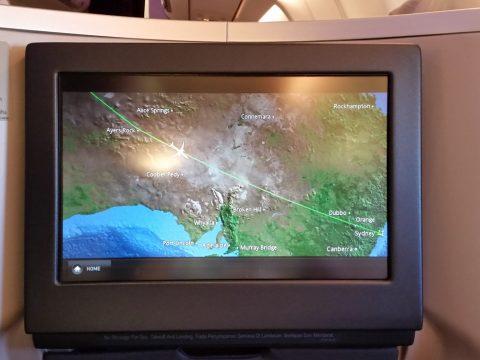 マレーシア航空ビジネスクラスA330シドニー行き