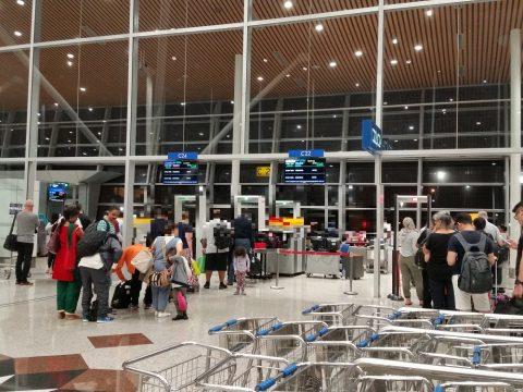クアラルンプール空港手荷物検査