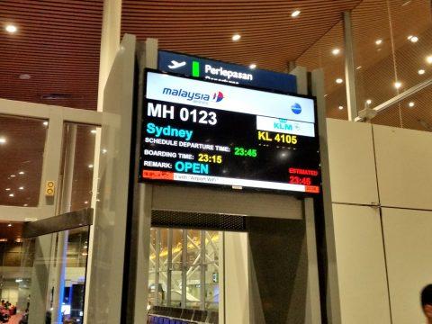 マレーシア航空123便