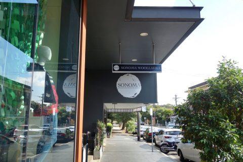 """シドニーのカフェSONOMA""""Woollahra""""店"""