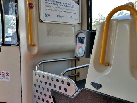 シドニー空港バスの乗り方