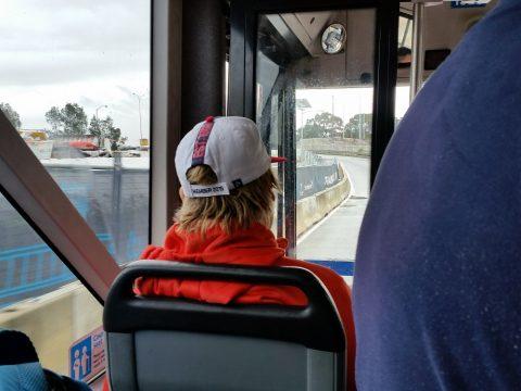 シドニーバス車内アナウンス