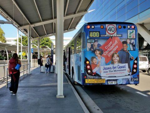 シドニー空港アクセス400番バス