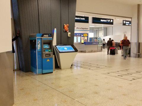 シドニー国際空港のATMの場所