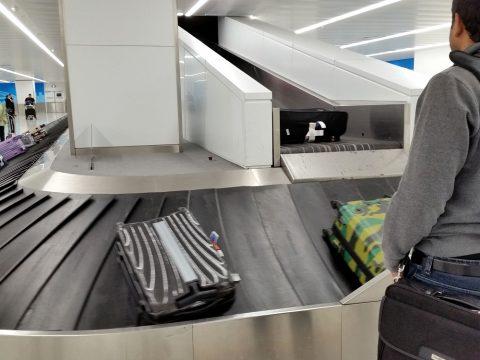シドニー空港手荷物受け取り