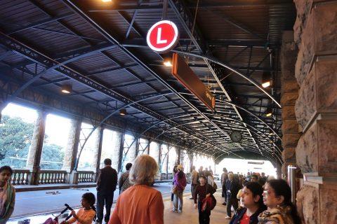 sydney-central-ライトレール乗り場