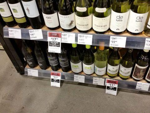 sydney-colesワインの価格