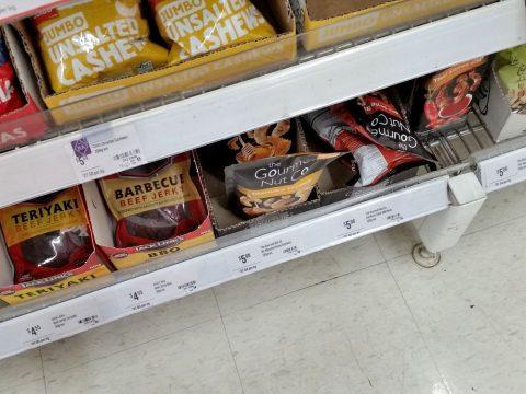 シドニーのスーパーにあるThe-Gourmet-Nut-Company