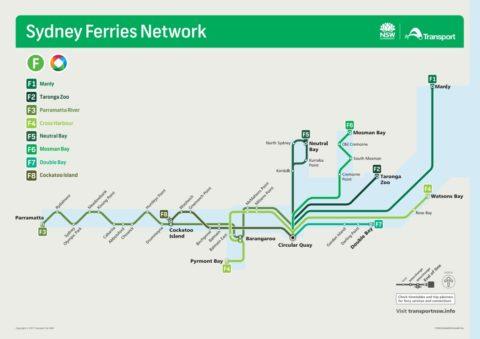 sydney-ferry-map