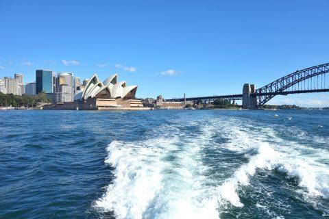 シドニー・フェリーから見える景色