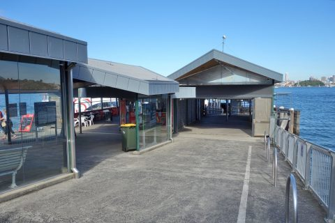 シドニー・フェリーTaronga-zoo駅