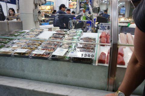 シドニー・フィッシュマーケットでテイクアウト