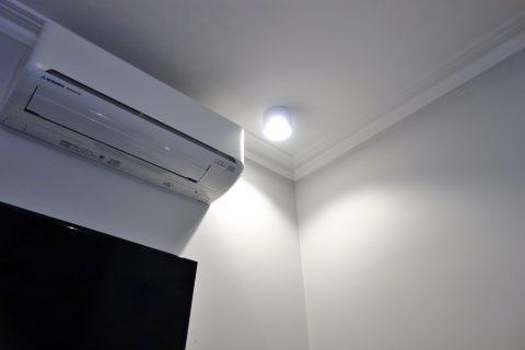 sydney-hotel-challis部屋の照明