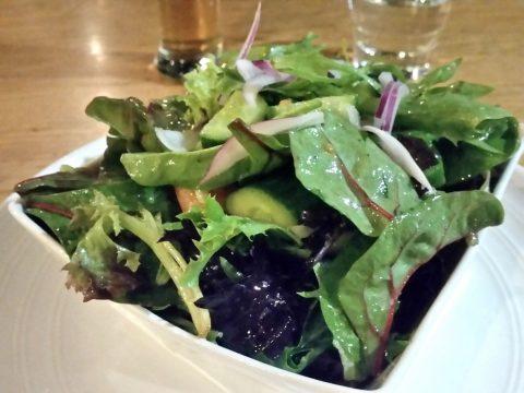 ステーキハウスIm-Angusのサラダの具