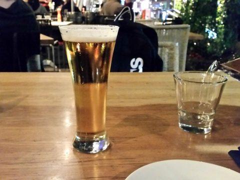 ステーキハウスIm-AngusのビールPure-Blonde