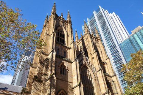 シドニーのSt.アンドリュース大聖堂