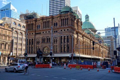 シドニーのクイーン・ヴィクトリア・ビルディング外観