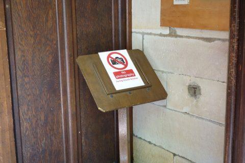 シドニーのSt.アンドリュース大聖堂は撮影禁止