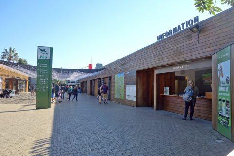 taronga-zooの入口