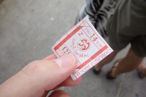 チャオプラヤー・エクスプレスボート料金チケット価格