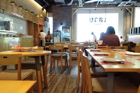 Savoey-Restaurant店内