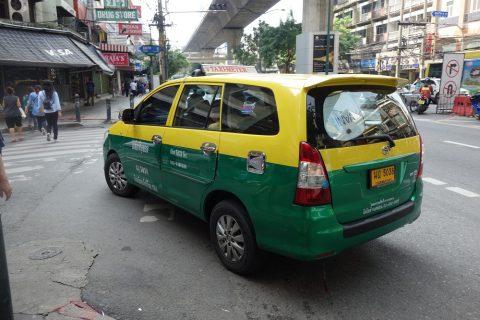 バンコクのボッタクリタクシー