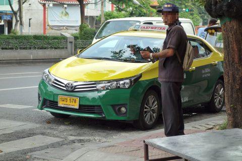 バンコクのタクシーは安い