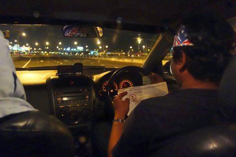 スワンナプーム空港からタクシー