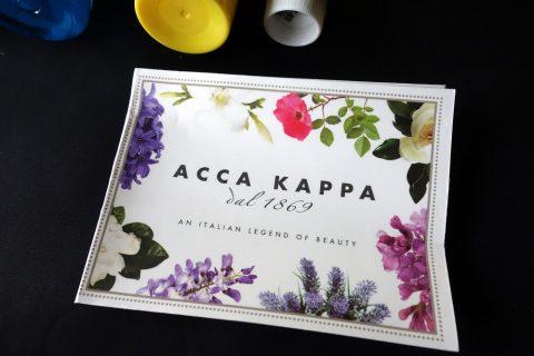 マレーシア航空ビジネスクラスのアメニティのACCA-KAPPA